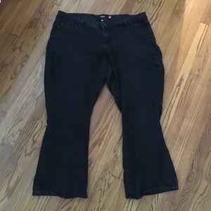 Torrid Denim black bootcut jeans